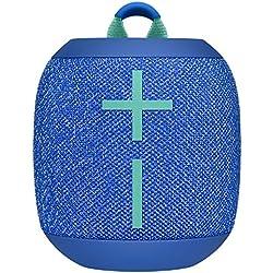 ULTIMATE EARS WONDERBOOM 2, Enceinte Portable Bluetooth Sans Fil, Son à 360 Degrés avec Basses Puissantes, Étanche / Anti-Poussière IP67, Capacité à Flotter, Portée de 30 Mètres - Bermuda Blue