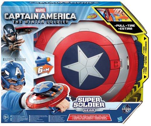 Captain America 2 Super Solder Gear - Stealth Fire Schutzschild [UK (Kostüme Superschurken Superhelden)