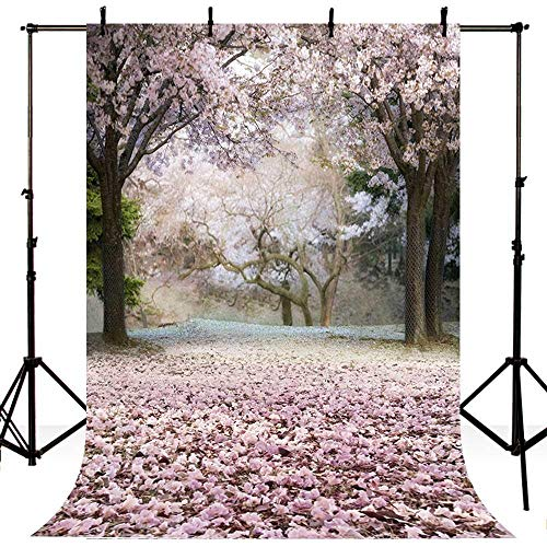 S`good Fotohintergrund,Blumen Neugeborenen Foto Hintergrund Bäume Garten Loft Hochzeit Fotografie Kulissen Studio Interior Fotos @ Poly-150X220Cm