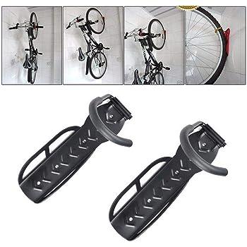 Vonhaus 2x Vertical Wall Mount Bike Cycle Storage Hooks