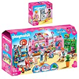 PLAYMOBIL® City Life 2er Set 9078 9081 Einkaufspassage + Geldautomat