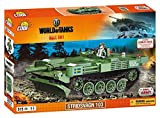 Kleine Armee Panzer Stridsvagn 103 World of Tanks Konstruktion Spielzeug Bausteine