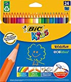 BiC Kids Evolution Colouring Pencils - Multi-Coloured, Pack of 24