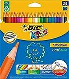 Bic Kids 829733 Buntstift (Kartonetui 24 Stück) 24-farbig sortiert