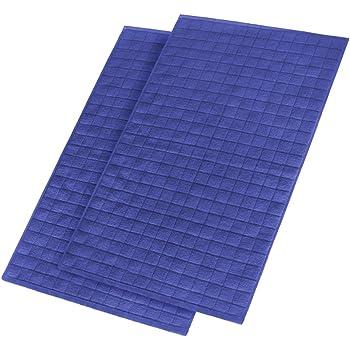 TOWEL MICROFIBER 45x70 CMS NAVY PACKAGE 5