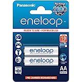 Panasonic Eneloop SY3052623 - Pack 2 pilas recargables, AA
