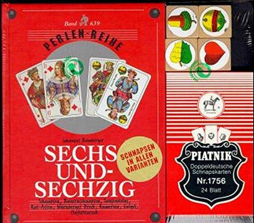 Sechsundsechzig/Schnapsen: + Spielkarten Doppeldeutsch - Perlenreihe