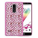 Funda LG G4 Stylus, WoowCase [ LG G4 Stylus ] Funda Silicona Gel Flexible Labios Besos Amor, Carcasa...