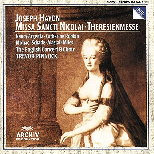 Haydn: Missa Sancti Nicolai / Theresienmesse by PINNOCK / ENGLISH CONCERT (1994-04-12)