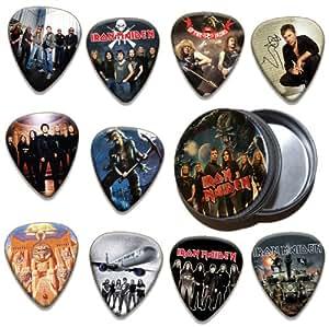 Iron Maiden Trooper Boite Rangement pour Médiator & Pack de 10 Médiators ( Ltd. To 100 )