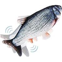 Pesce Giocattolo Gioco per Gatto - Giochi Interattivo per Gatti, Giochi Gatto Pesce Che si Muove, Pesci Giocattolo…