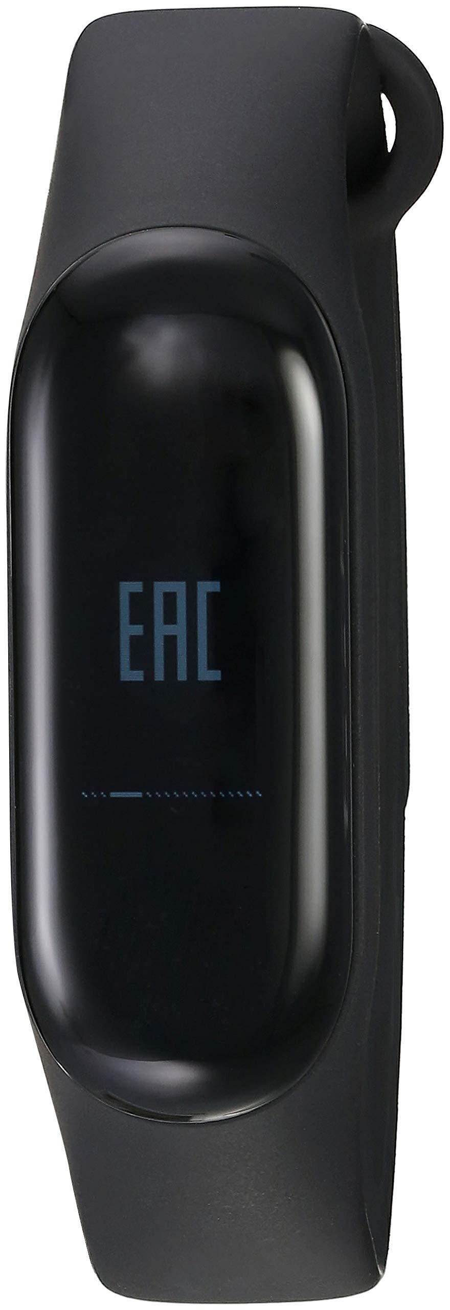 Xiaomi Mi Band 3 - Pulsera de actividad, Pantalla 0.78'' full OLED táctil, Notificaciones, Sumergible 50m, Mide calorías, pasos y sueño, Negro 2
