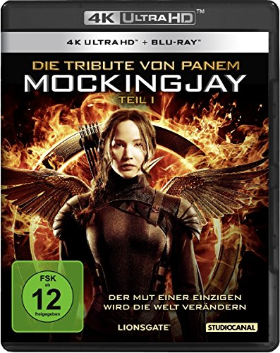 Die Tribute von Panem: Mockingjay 1 - Ultra HD Blu-ray [4k + Blu-ray Disc]