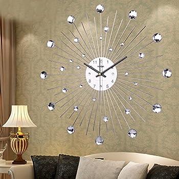 Nabotht orologi a parete semplice stile naturale orologi - Orologi da parete moderni grandi ...