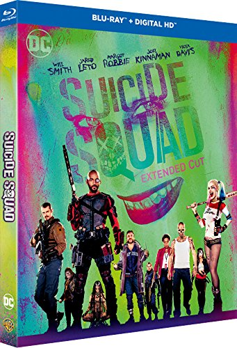 Suicide Squad - Blu-ray - DC COMICS [Blu-ray + Blu-ray Extended Edition + Copie digitale UltraViolet]