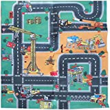 My Dream Mat Childrens Toy Themed Play Mat 800 x 700 with 2 Cars Age 3+