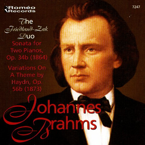 Johannes Brahms: Sonata for Two Pianos, Op. 34b / Variations on a Theme by Haydn, Op. 56b