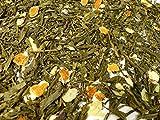 Marzipan Orange Grüner Tee Naturideen® 100g