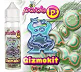 60ML Paide Premium E-Liquid - Sin nicotina - Líquido para cigarrillo electrónico 70VG 30PG (Gizmokit)