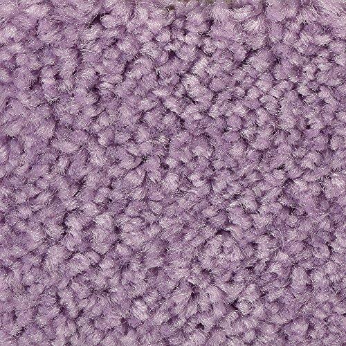 BODENMEISTER BM72182 Teppichboden Auslegware Meterware Hochflor Shaggy Langflor Velour lila rosa 400 cm und 500 cm breit, verschiedene Längen, Variante: 5 x 4 m