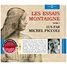 Les Essais De Montaigne : Livre /Vol.1