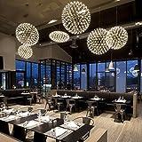 ZHUDJ Lampe Restaurant Bar Treppe, Dress Shop Fenster Funken Kugelförmigen Persönlichkeit Kronleuchter 1, Wenden Sie Sich Bitte Online Customer Service Für Benutzerdefinierte