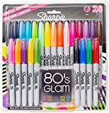 Sharpie Fine Point Permanent Marker - Assorted Colours, Pack of 24