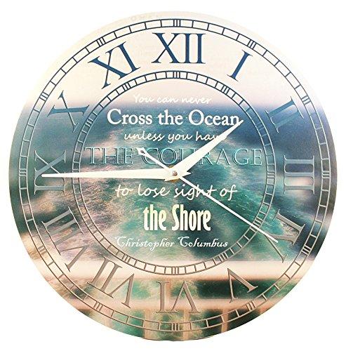 orologio-da-parete-non-potrai-mai-attraversare-loceano-a-meno-che-tu-non-abbia-il-coraggio-di-perder