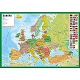 Grupo Erik Editores TSIT002 - Vade escolar con diseño mapa de Europa