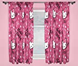 character world 72-inch Hello Kitty Sommer Wind Curtains