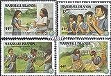 Marshall-Inseln 101-104 (kompl.Ausg.) 1986 Pfadfinderinnen (Briefmarken für Sammler)