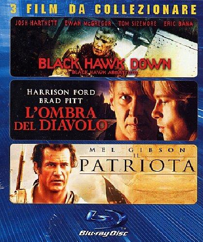 Black hawk down + L'ombra del diavolo + Il patriota [Blu-ray] [IT Import]