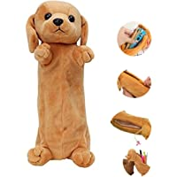 24x7 eMall Emoji Pencil Pouch Soft Toys for Children, Kids Favorite Pencil Box (3D Dog)