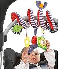 Ndier Baby Krippe Kinderbett Kinderwagen Hänge Rasseln Spirale Kinderwagen & Autositz Spielzeug