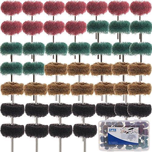 spta-48tlg-25mm-mix-grit-80-300-schleifscheibe-aus-faservlies-mit-kunststoff-box-fur-proxxon-dremel-