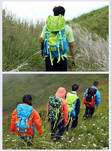 zaino trekking Zaino arrampicata all'aperto Borsa a tracolla zaino leggero Sacchetto degli uomini di grande capienza e borsa da viaggio Donne Zaini da escursionismo ( Colore : F. ) F.