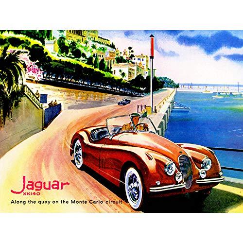 GUAR MONTE CARLO CIRCUIT CAR AUTOMOBILE NEW FINE ART PRINT POSTER PICTURE PLAKAT DRUCKEN 30x40 CMS CC5509 ()