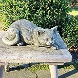 Antikas - Stein Katze Gartenfiguren