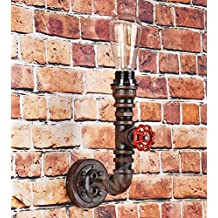 Stile Steampunk-Lampada da parete, in metallo, Design