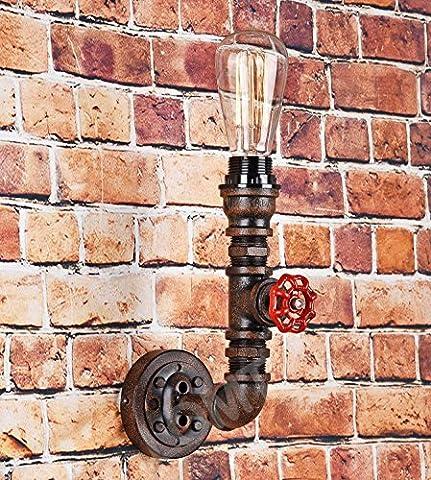 Vintage Steampunk Rohr Wandleuchte Metall Design Lampe