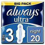 Always Ultra Night Binden mit Flügeln-Größe 3, 20Pads