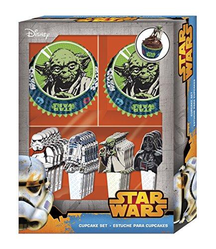 Boyz Toys Cupcake Set-Star Wars (Star Wars Cupcakes)