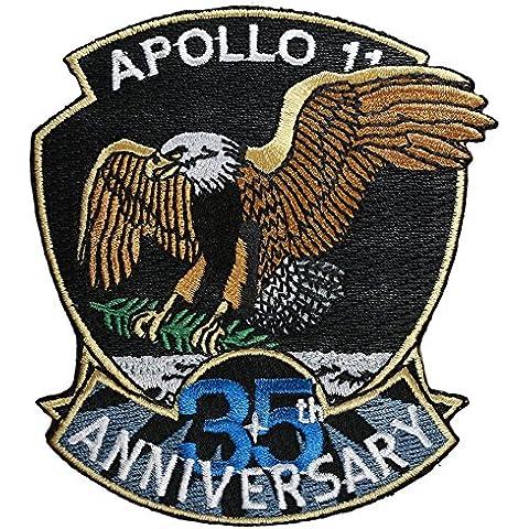 PATCH,TOPPA RICAMATA TERMOADESIVA ,,Apollo 11 - 35th Anniversary 7,5 cm ,, (Nasa Patch)