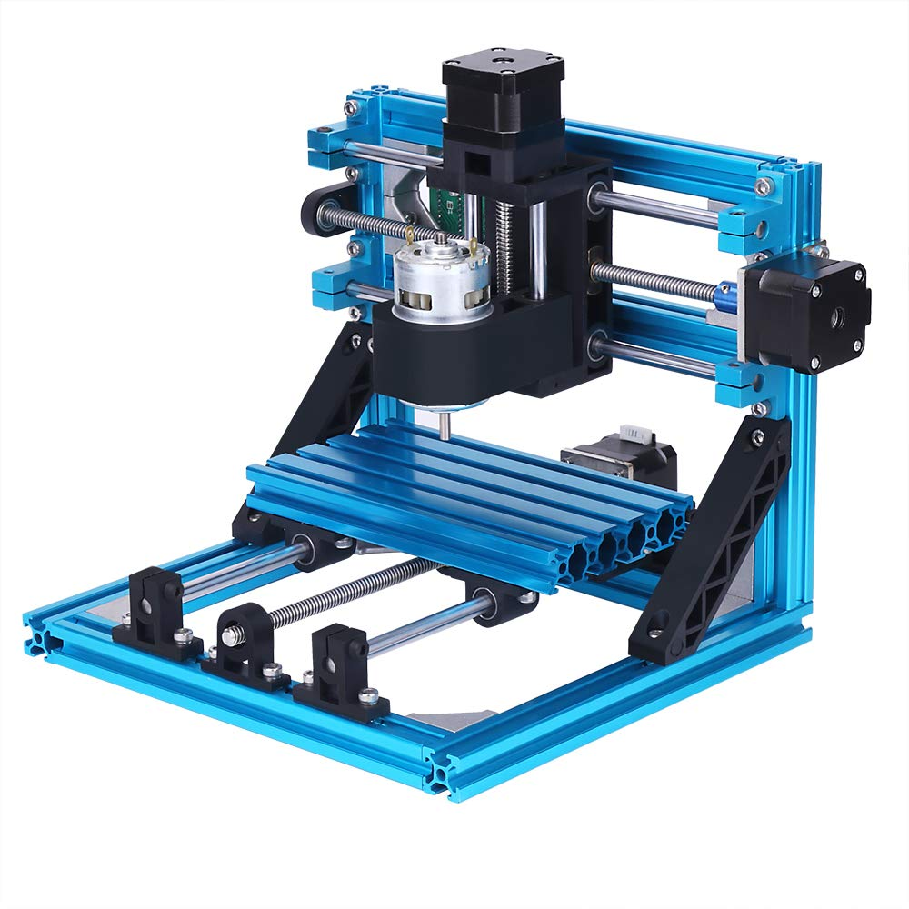 Yofuly CNC Router 1610 GRBL Graviermaschine, 250 * 240 * 220mm, 110 V-240 V, 3 Achsen Mini Holz PCB PVC Fräsen Carving…