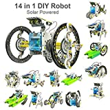 #8: Babytintin Educational 14 in 1 Solar Power Energy Robot Toy Kit Science School Projects for Kids for Learning Purpose (14 in 1)
