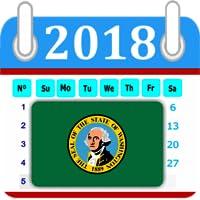 Washington Calendar 2018 Holiday