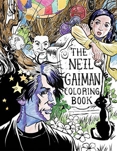 Neil Gaiman Coloring Book por Neil Gaiman