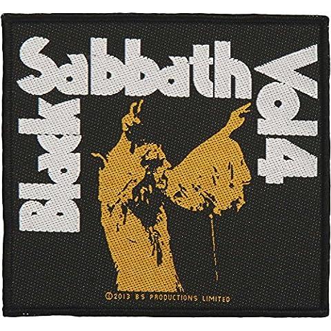 Black Sabbath Vol, 4 (10 cm x 10 cm) Official Patch