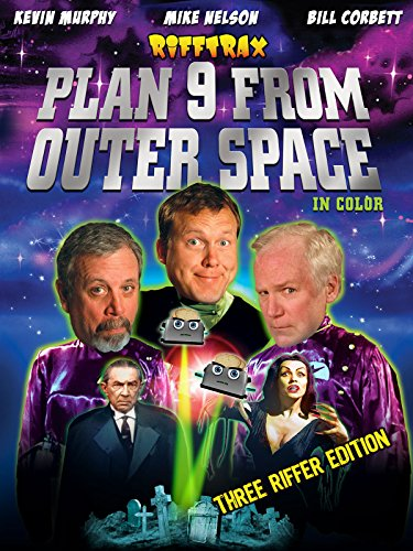 RiffTrax: Plan 9 from Outer Space (Three Riffer Edition) [OV] -