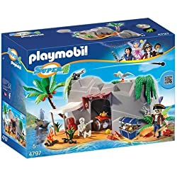 Playmobil - Cueva pirata, playset (4797)